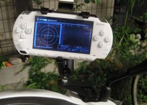 PSP GPSナビ RAMマウント