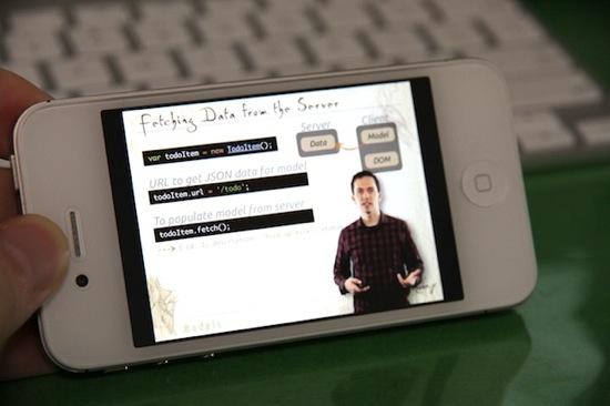 Codeshool iphone