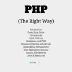 PHPer必見!PHPのベストプラクティスをまとめるプロジェクト