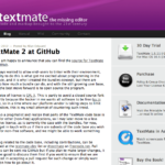 TextMate 2がGitHubでGPL 3として公開!!