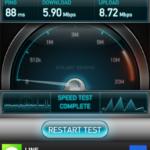 【速報】さっそく au iPhone5 LTE 通信速度をチェックしてみた!