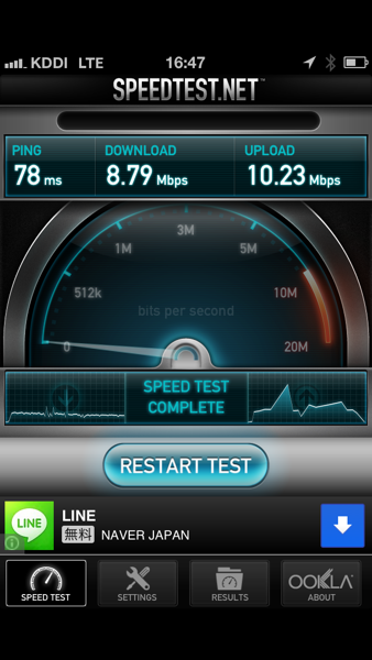 Iphone5 lte limit over 32h