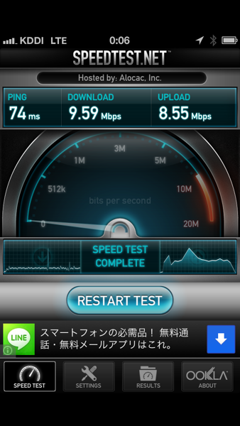 Iphone5 lte limit over day